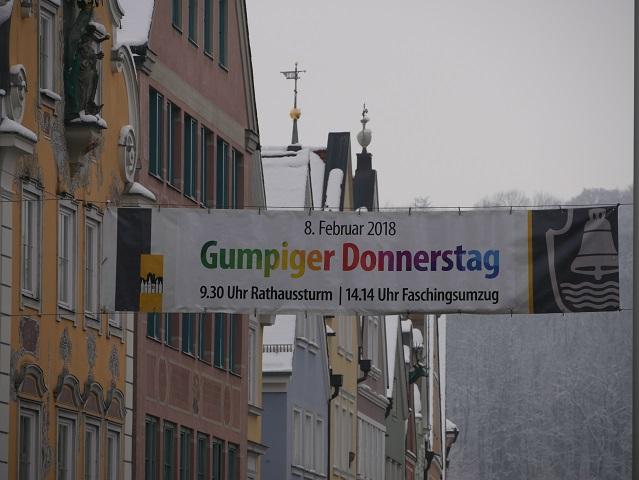 Gumpiger Donnerstag - Faschingsumzug in Mindelheim