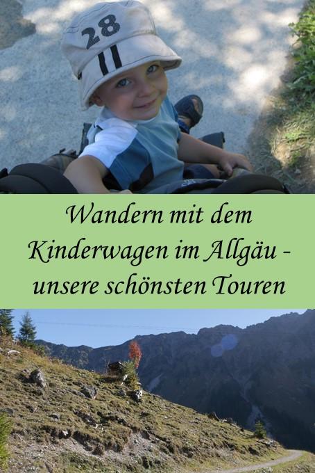 Wandern mit dem Kinderwagen im Allgäu - unsere schönsten Touren