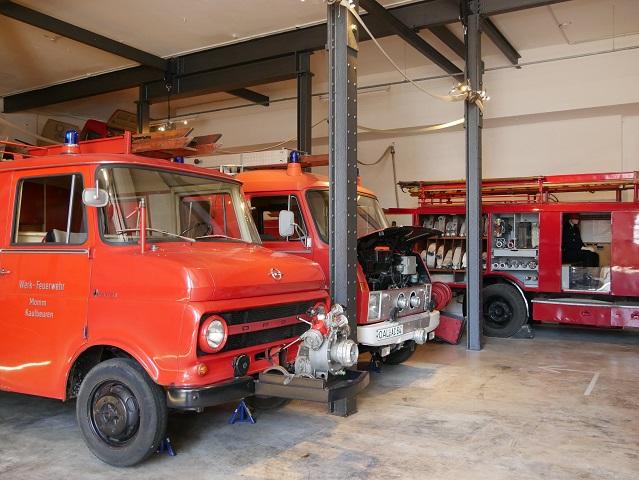Fahrzeuge im Feuerwehrmuseum Kaufbeuren