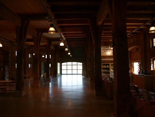 In der Zehntscheuer im Bauernhausmuseum Wolfegg