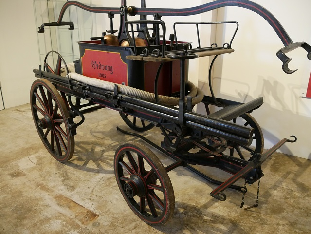 Löschgerät aus dem Jahr 1905