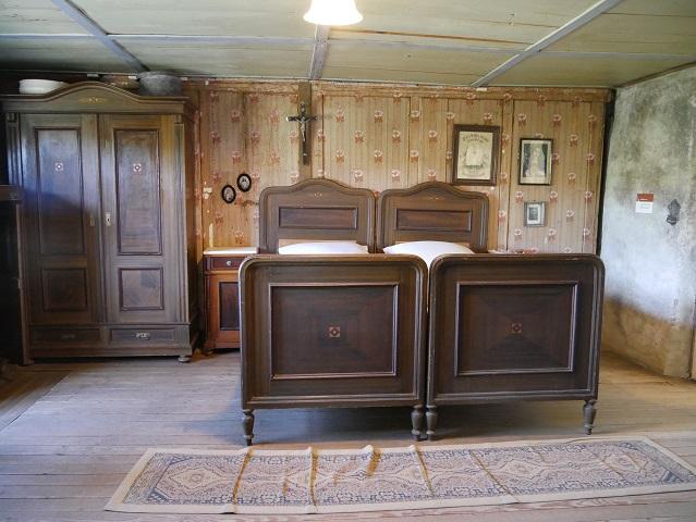 Schlafzimmer im Haus Häusing