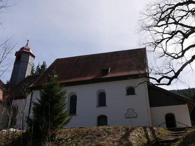 Wallfahrtskirche Maria Trost an der Alpspitz bei Nesselwang