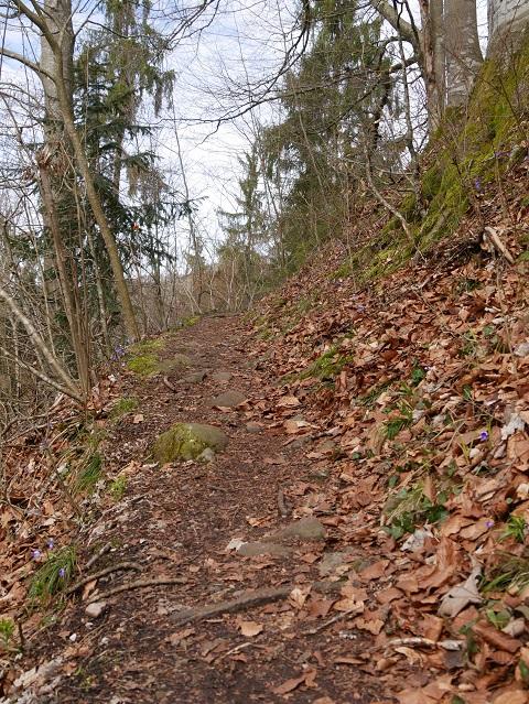 Wanderweg am Illerdurchbruch
