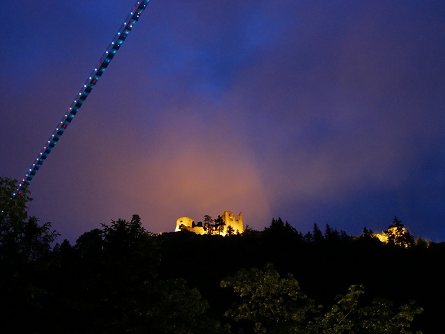 nachts - Burgenwelt Ehrenberg mit highline179 #FopaNet