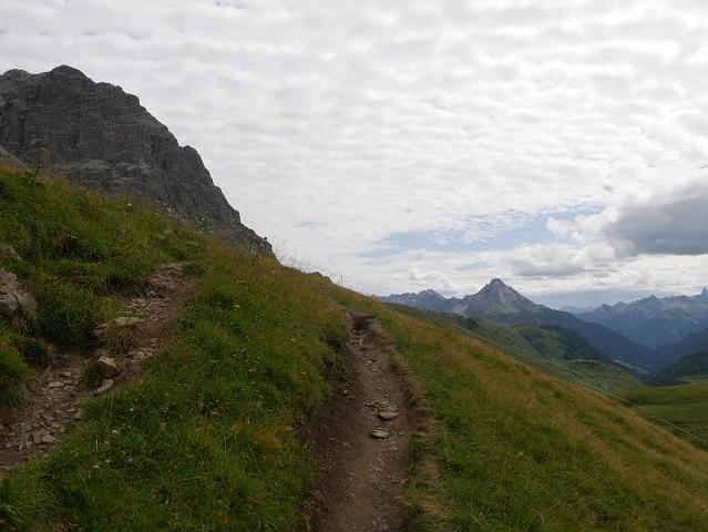 Aufstieg zum großen Widderstein im Kleinwalsertal