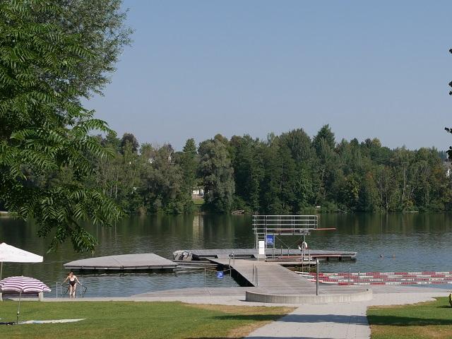 Stadtweiher Leutkirch - Naturfreibad