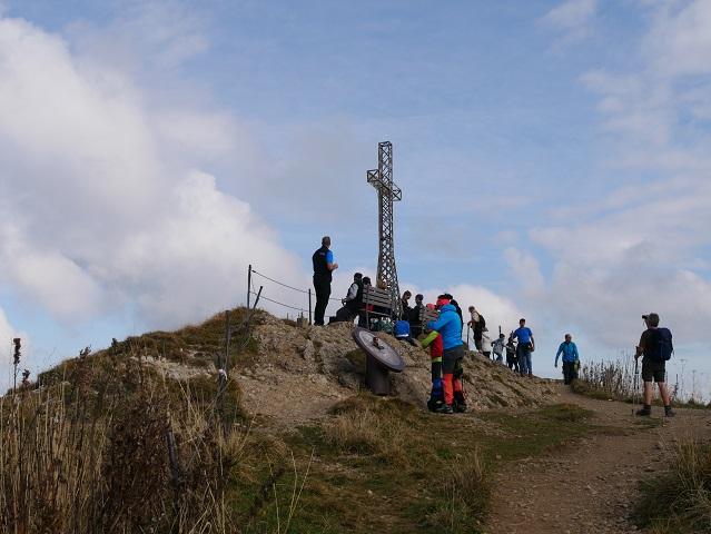 Gipfelkreuz auf dem Hochgrat im Allgäu