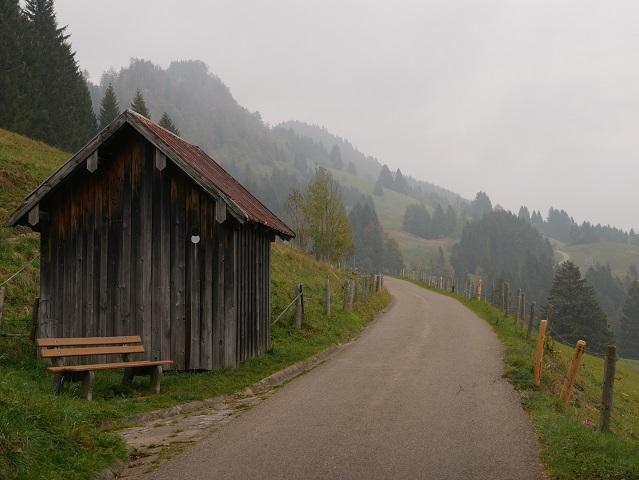 Auf dem Weg zum Grüntenhaus