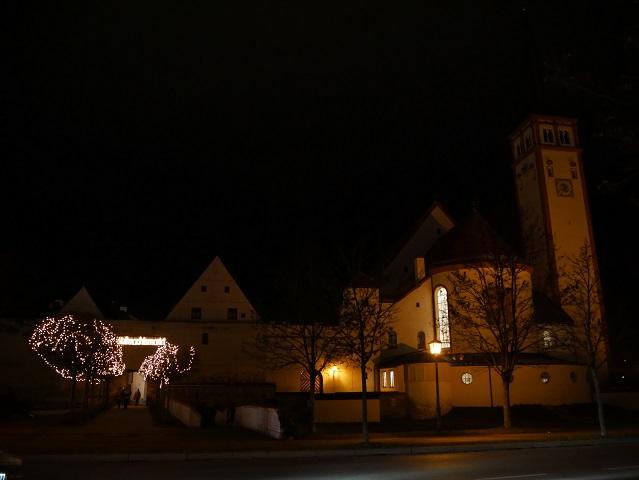 Eingang zum Weihnachtsmarkt Mindelheim