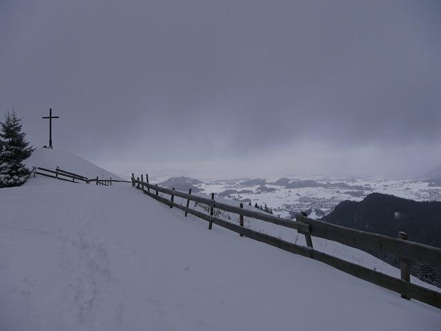 Winterlandschaft zu Füßen der Kappeler Alp bei Pfronten