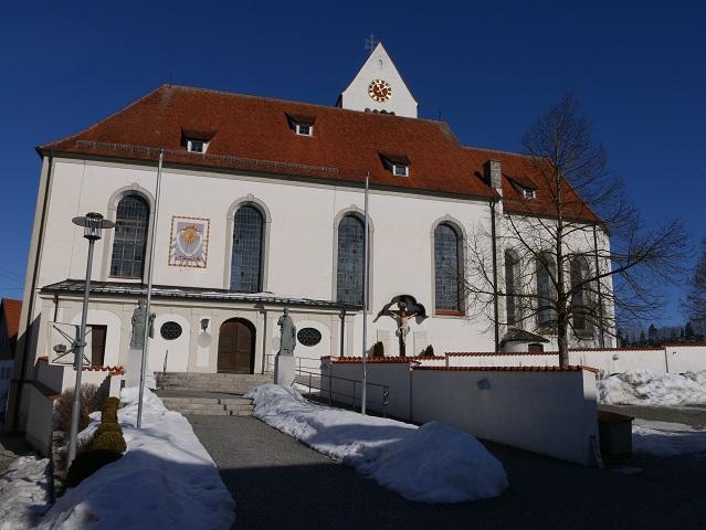 Kirche St Peter und Paul in Stötten am Auerberg