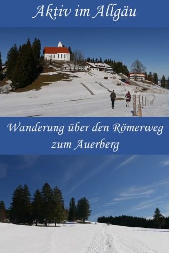 Wanderung über den Römerweg zum Auerberg #allgäu