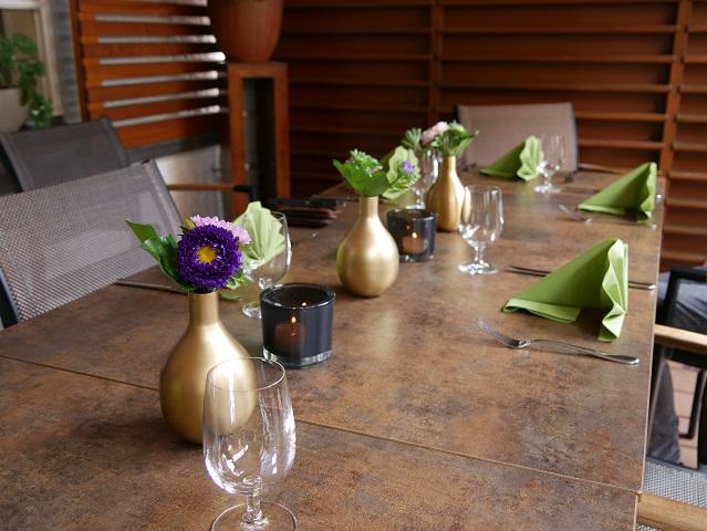 Tisch im Restaurant Zum Sailer