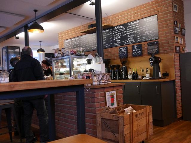 im Café Muckefuck in Marktoberdorf