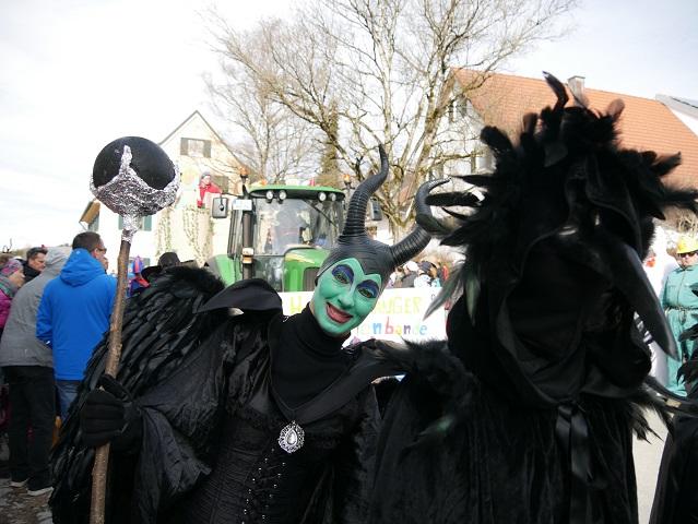 Faschingsumzug Obergünzburg 2019 - Maleficent