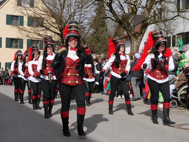 Faschingsumzug Obergünzburg 2019 - Zirkus Belissima Tanztruppe