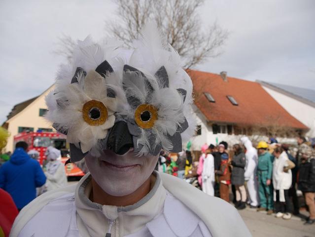 Faschingsumzug Obergünzburg 2019 - fantastischer Vogel