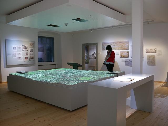 3D-Stadtmodell vom Kempten im neuen Kempten-Museum