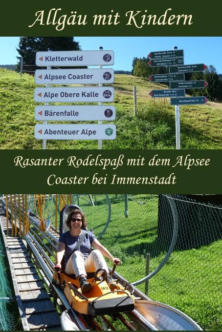 Die längste Ganzjahresrodelbahn Deutschlands - der Alpsee Coaster bei Immenstadt