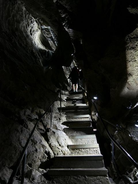 Aufstieg aus der Sturmannshöhle