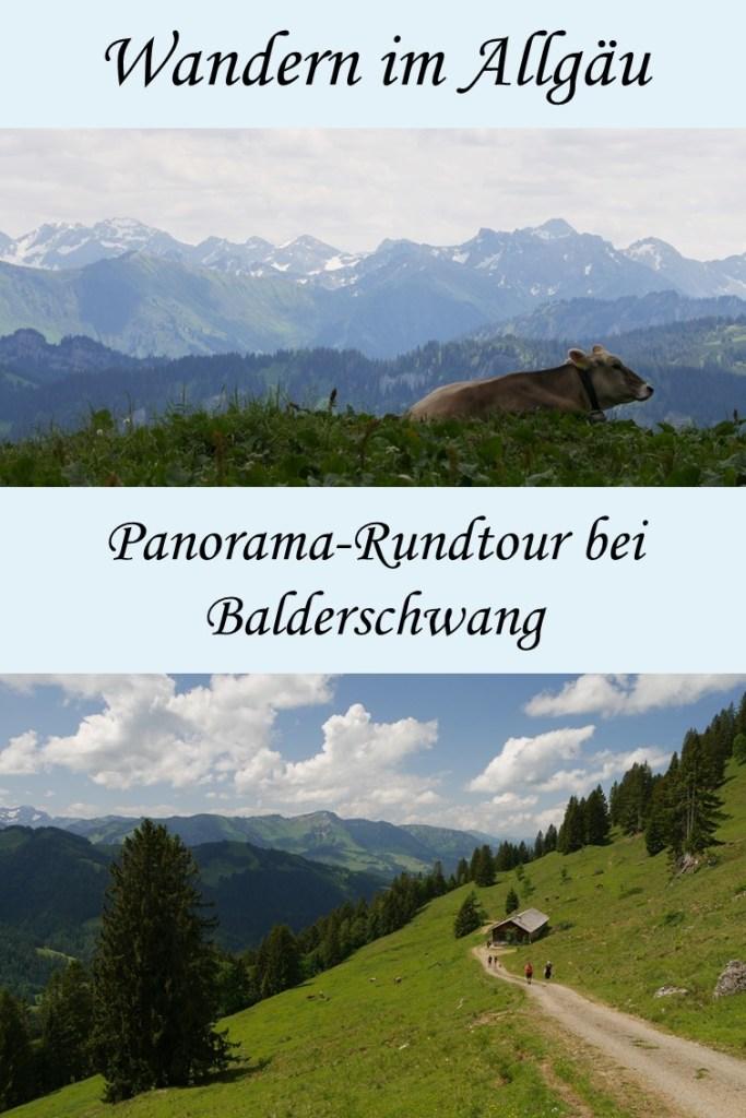 Balderschwang wandern und genießen mit tollem Panorama