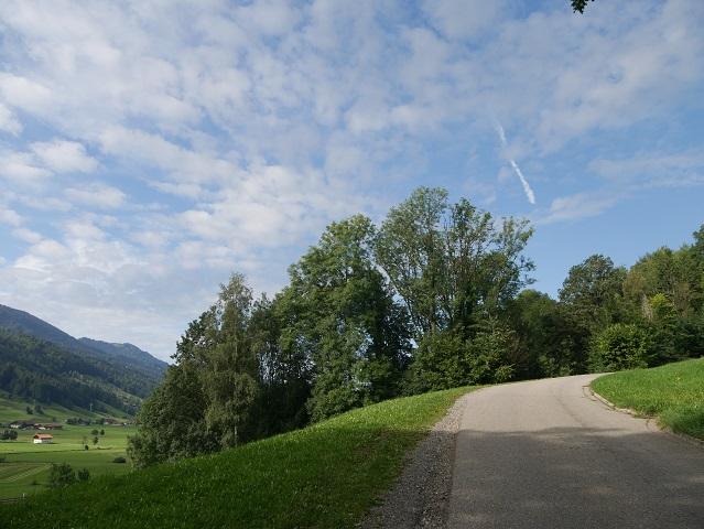 beginn der Wanderung von Ratholz zur Thaler Höhe