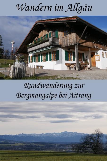 Wanderung zur Bergmangalpe von Aitrang aus