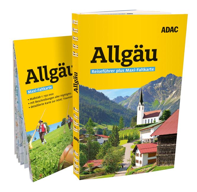 Cover Allgäu-Reiseführer aus der Reihe ADAC plus