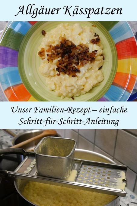 Echte Allgäuer Kässpatzen - unser Käsespätzle-Rezept