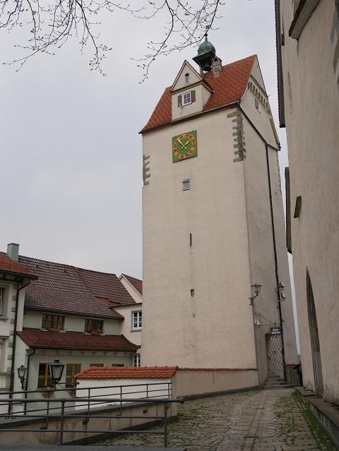Eingang zum Wassertor-Museum in Isny