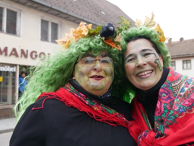 Waldelfen auf dem Faschingsumzug Obergünzburg 2020