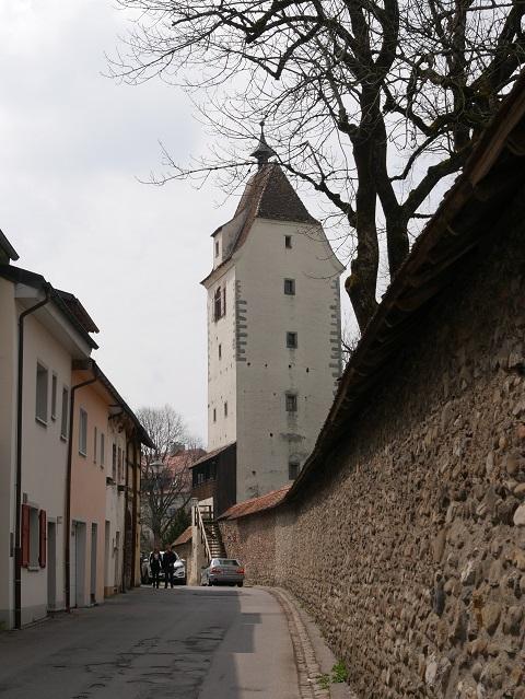 Espantor und Stadtmauer in Isny