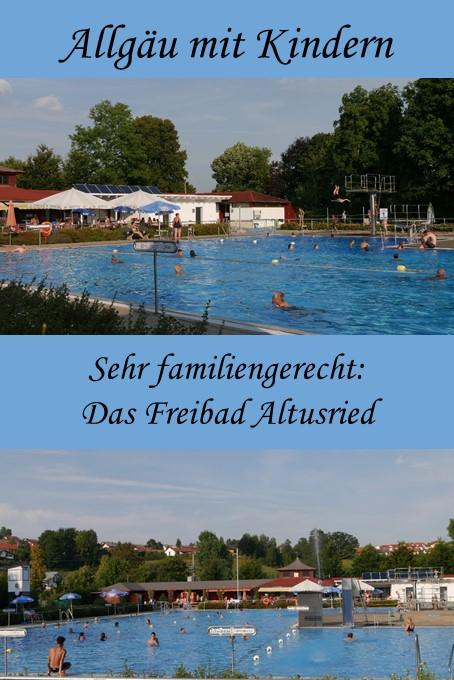 Das Freibad Altusried im Allgäu