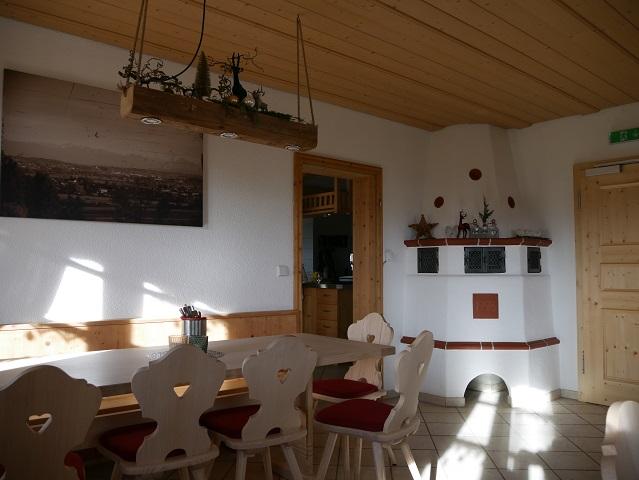Gaststube in der Bergmangalpe