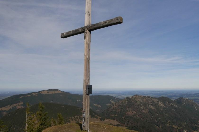 Gipfelkreuz auf dem Schönkahler