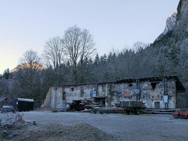 Wanderung bei Hohenschwangau - an der ehemaligen Gipsmühle