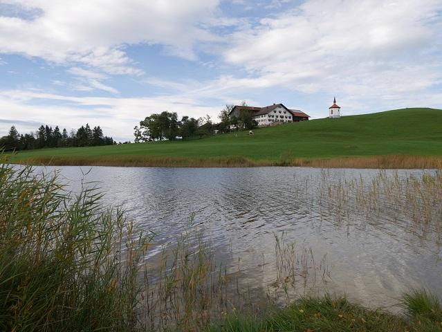Der Hegratsrieder See bei Halblech