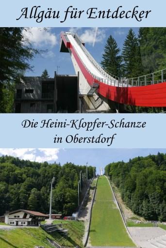 Besichtigung der Heini-Klopfer-Schanze in Oberstdorf