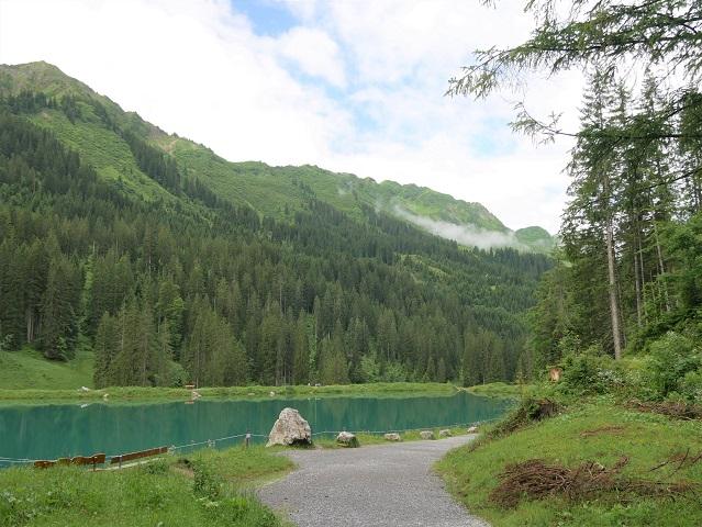 der Herzsee im Schwarzwassertal