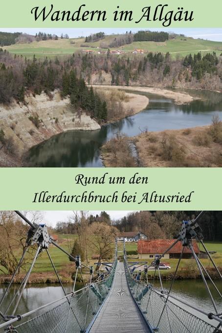 Wanderung rund um den Illerdurchbruch bei Altusried im Allgäu