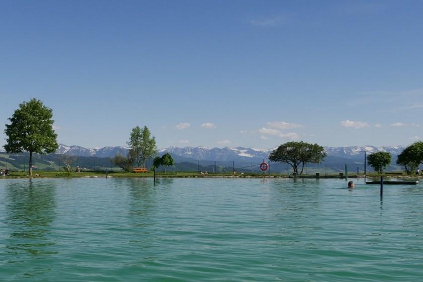 Infinity-Pool-Feeling im Alpenfreibad Scheidegg