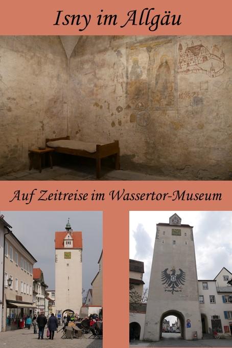 Isny im Allgäu - auf Zeitreise bei einer Führung durchs Wassertor-Museum
