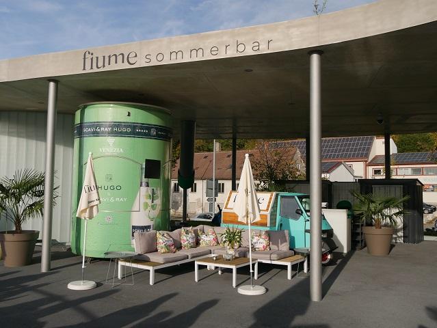 Lounge der fiume Sommerbar