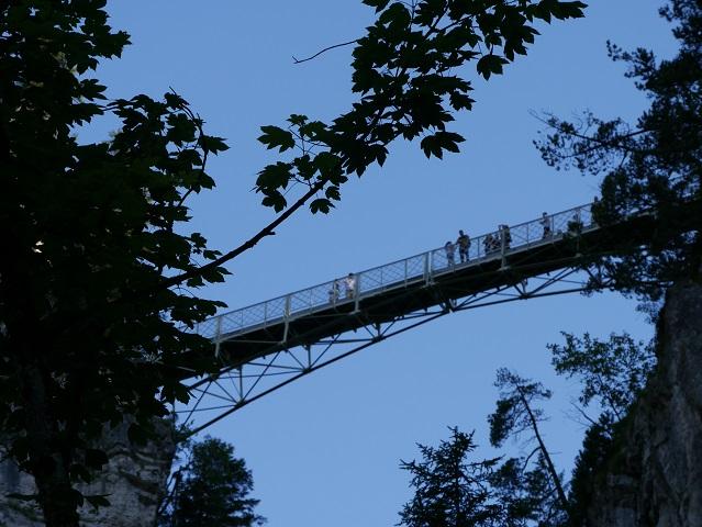 die Marienbrücke bei Schloss Neuschwanstein