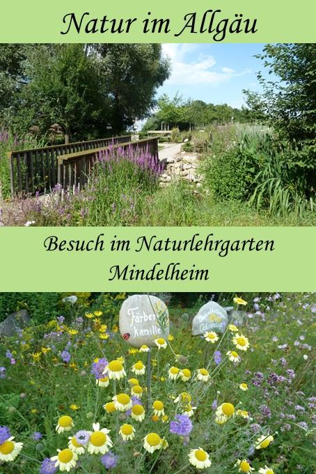 Ein Besuch im Naturlehrgarten Mindelheim im Allgäu