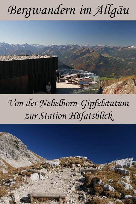 Kleine Wanderung am Nebelhorn im Allgäu