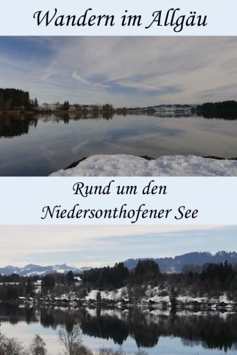 Rundwanderweg Niedersonthofener See im Allgäu