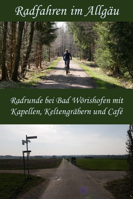 Radtour bei Bad Wörishofen - Radrunde mit Kapellen, Keltengräbern und Café