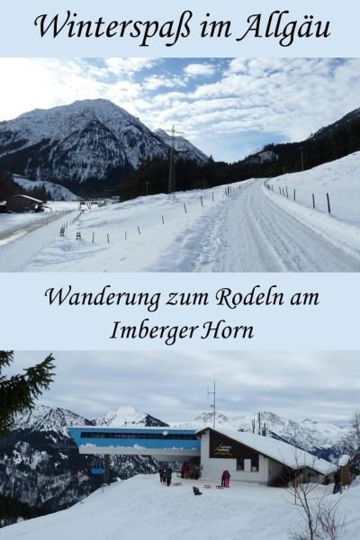 Rodeln am Imberger Horn bei Bad Hindelang